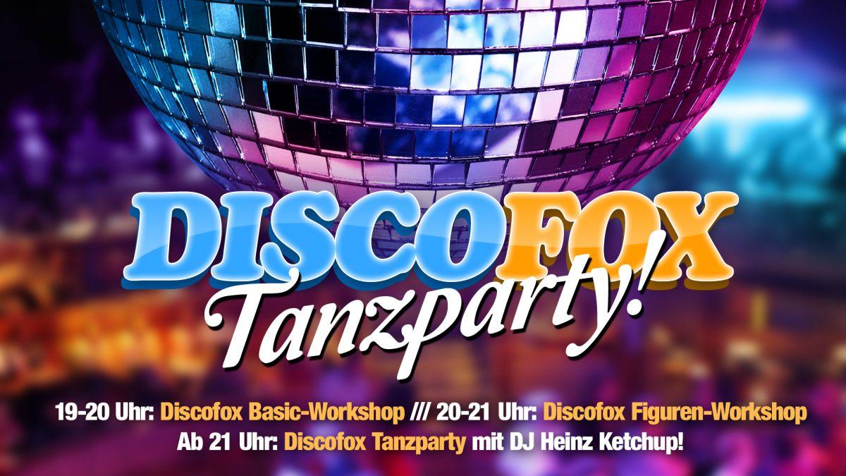 Discofox Tanzparty mit Discofox Basic & Figuren Workshop