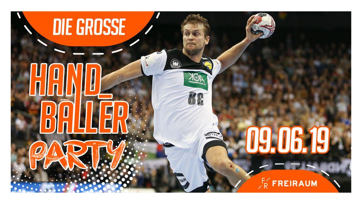 Die große Handballer Party