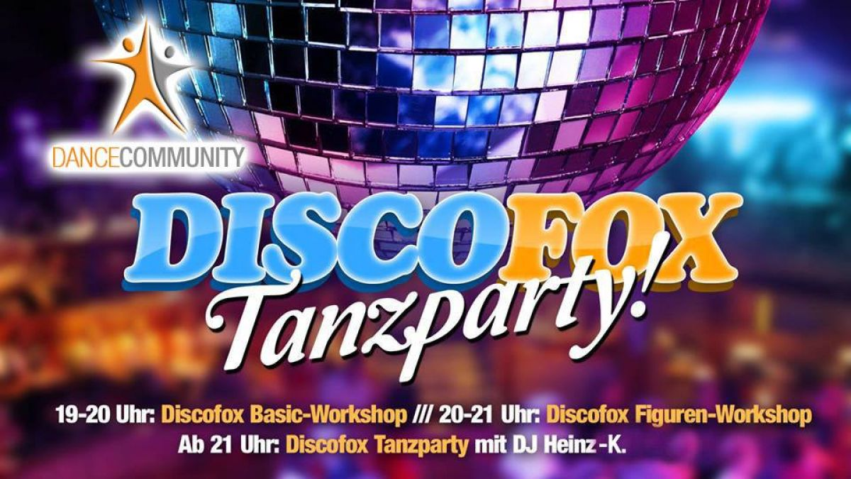 Discofox Tanzparty Vol. 3 mit Discofox Basic & Figurenworkshop