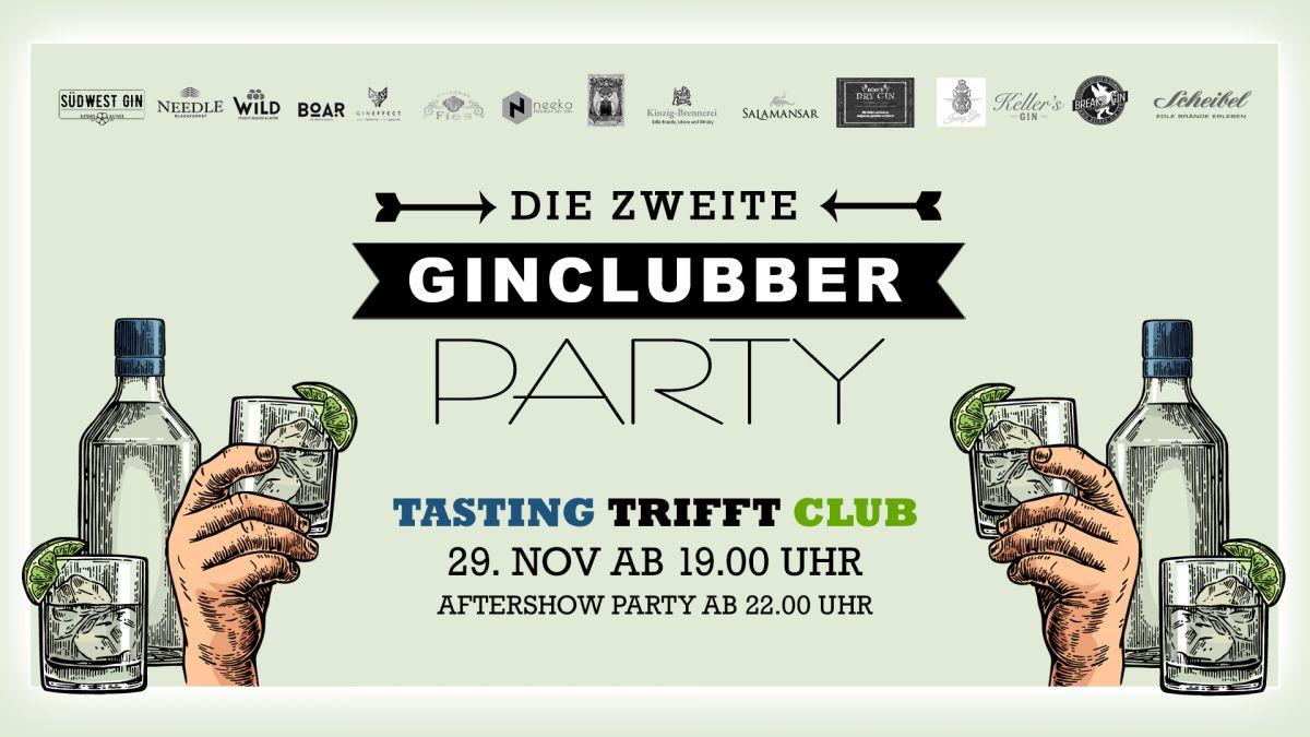 Ginclubber #2 mit großem Tasting und Party