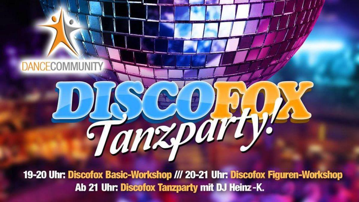 Discofox Tanzparty Vol. 4 mit Discofox Basic & Figurenworkshop