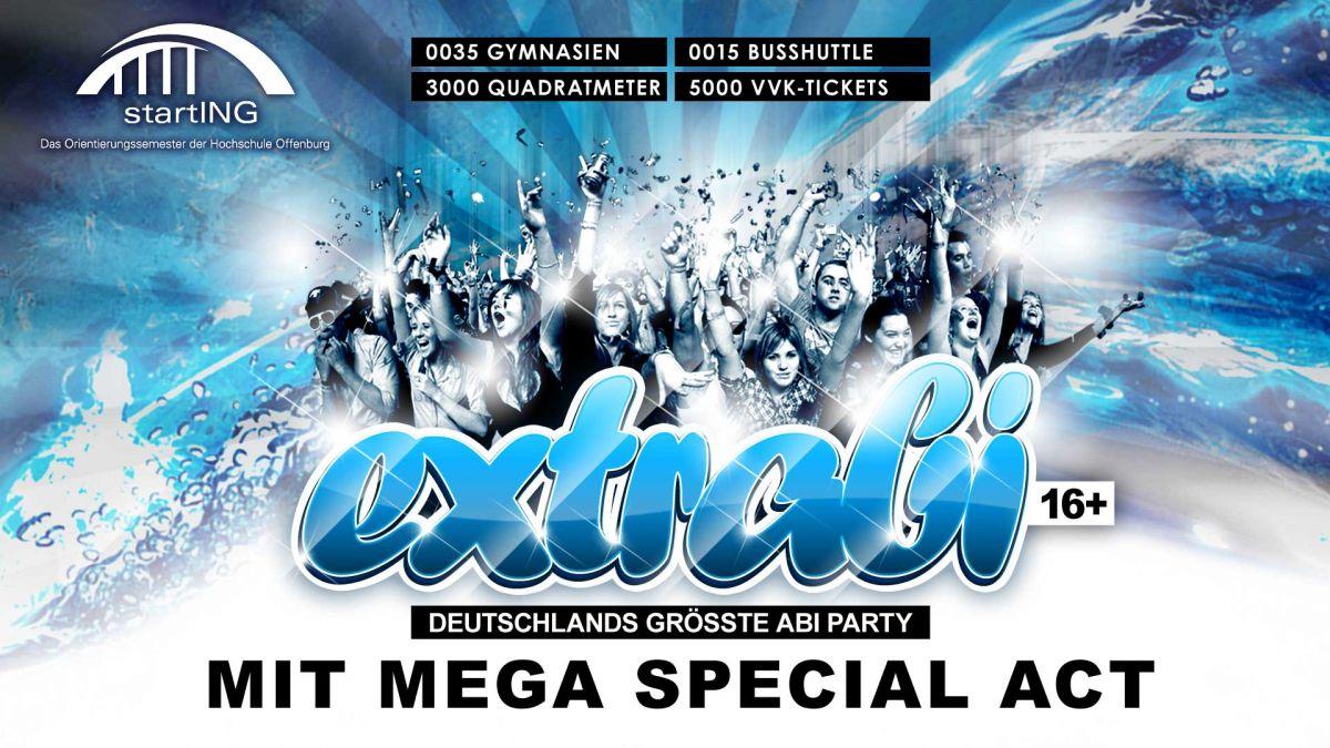 Extrabi 2020 - Deutschlands größte Abi- Party
