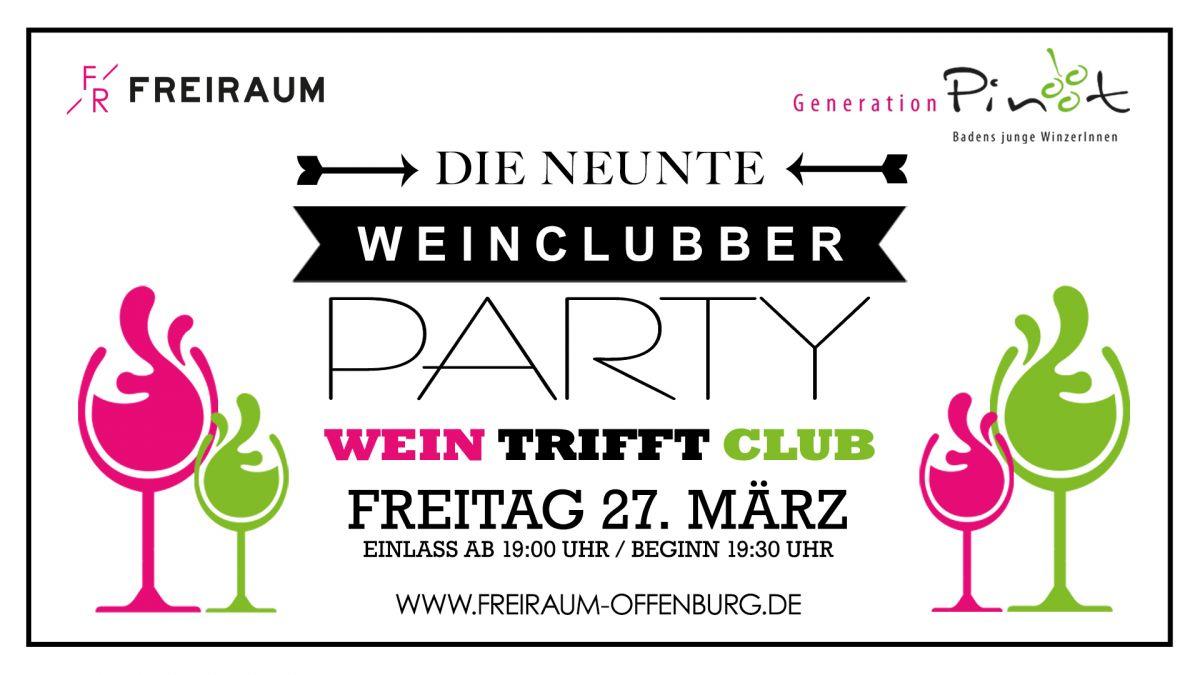 WeinClubber #9 mit Weinprobe und Party danach