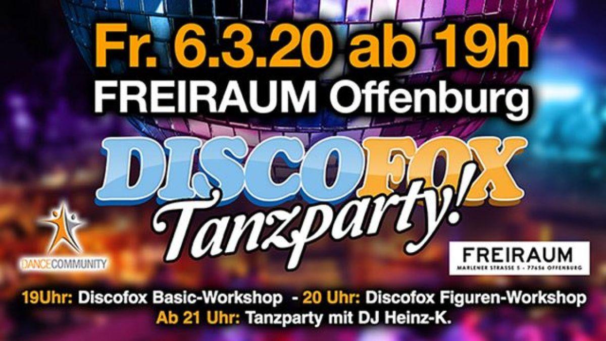 Discofox Tanzparty mit Discofox Basic & Figurenworkshop