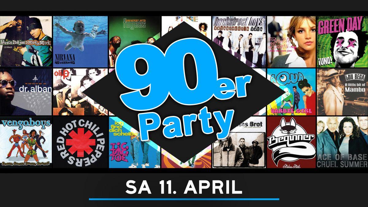 Die 90er Party