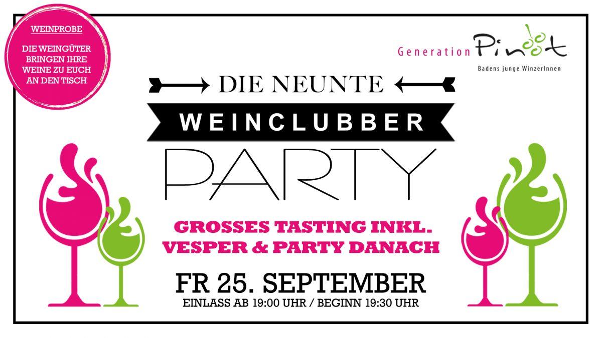 AUSVERKAUFT! WeinClubber #9 - Tasting inkl. Vesper & Party danach