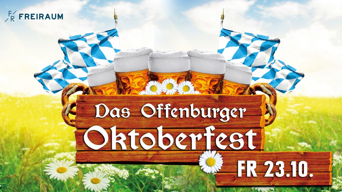 Das Offenburger Oktoberfest im Freiraum (Tag 1)