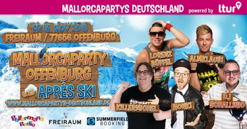Mallorcaparty Offenburg goes Après Ski